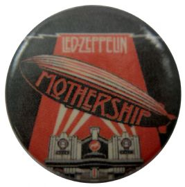 Led Zeppelin - 'Mothership' Button Badge